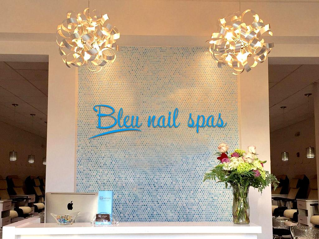 bleu nail spas