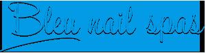 Bleu nail spas Logo